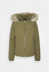 Tommy Jeans - TECHNICAL - Down jacket - olive tree