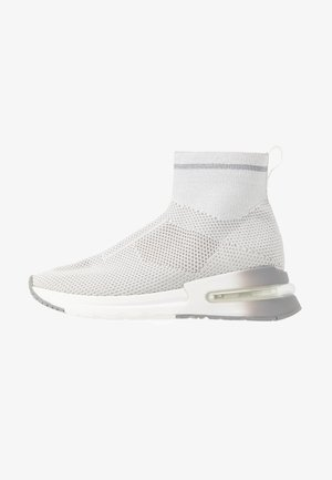 High-top trainers - light grey/grey