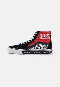 SK8-HI UNISEX - Sneakers hoog - racing red/true blue