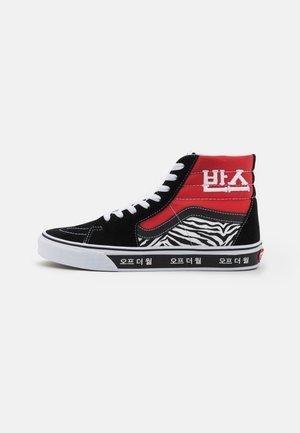 SK8-HI UNISEX - Sneakersy wysokie - racing red/true blue