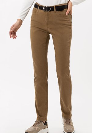 STYLE MARY - Slim fit jeans - walnut
