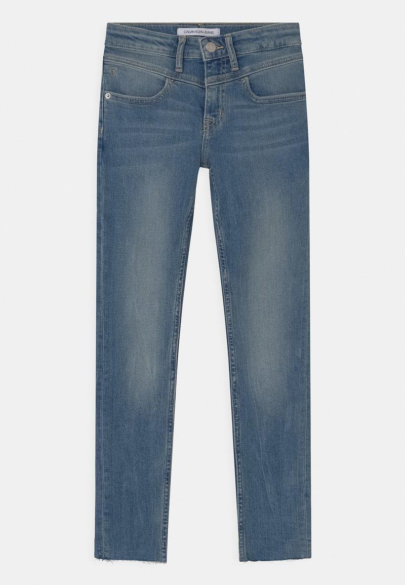 Calvin Klein Jeans - SKINNY - Skinny džíny - blue