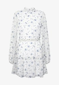 Nly by Nelly - VOLUME SLEEVE FRILL DRESS - Day dress - blue - 5