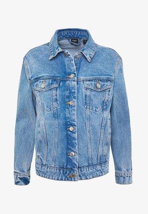 VMKATRINA LOOSE JACKET MIX - Denim jacket - light blue denim