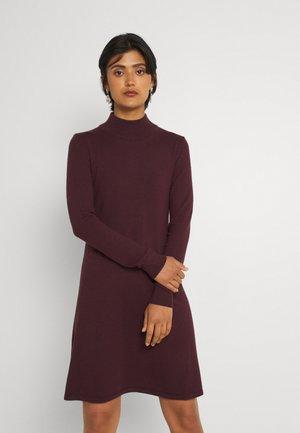 VIBESTINA HIGH NECK DRESS - Jumper dress - winetasting