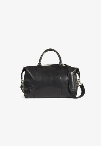STEVEN  - Weekend bag - black