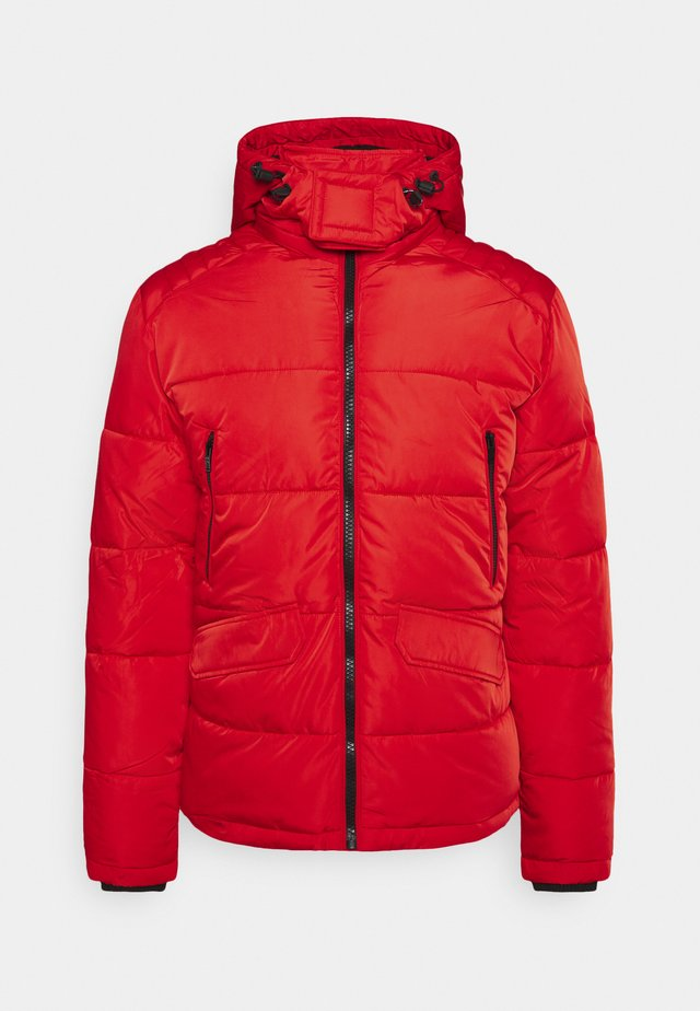 Winter jacket - red chili