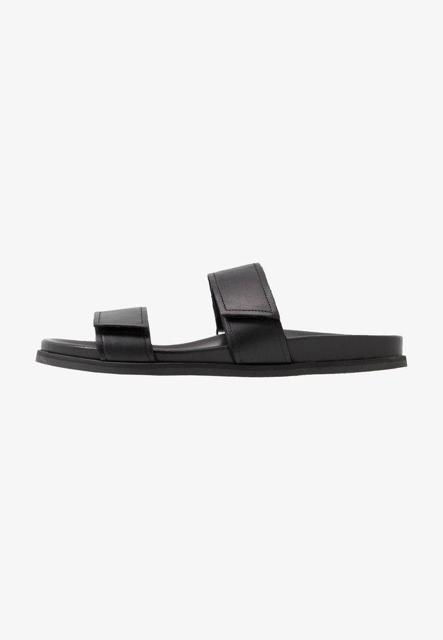 ROUTE STRAP - Mules - black