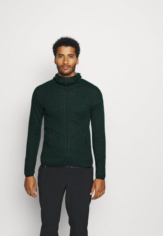 PUEZ - Bluza z kapturem - kombu green