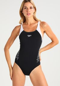Speedo - BOOM  - Swimsuit - black/white - 0