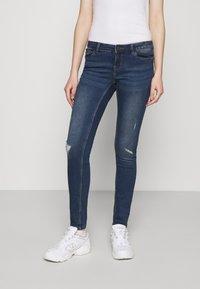 Noisy May - NMEVE BREAK  - Jeans Skinny Fit - medium blue denim - 0