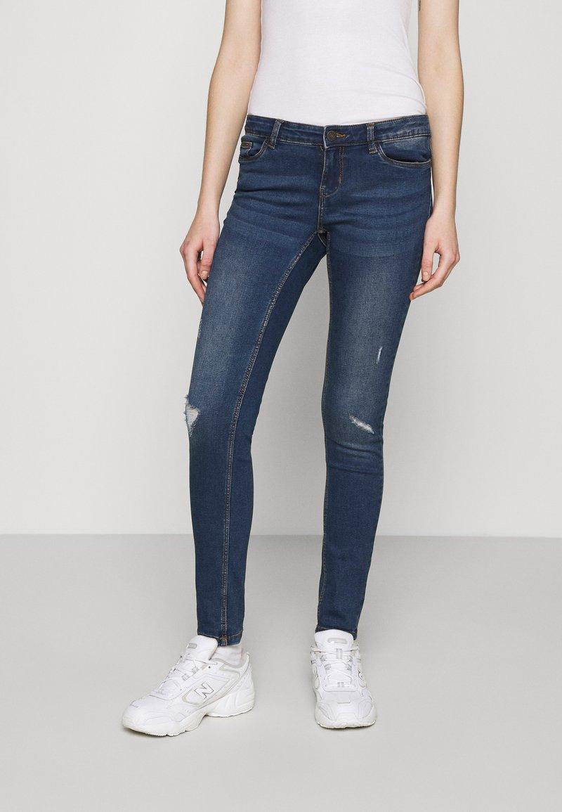 Noisy May - NMEVE BREAK  - Jeans Skinny Fit - medium blue denim