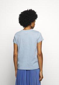 Polo Ralph Lauren - WSTRNWR SHORT SLEEVE - T-shirts med print - estate blue - 2