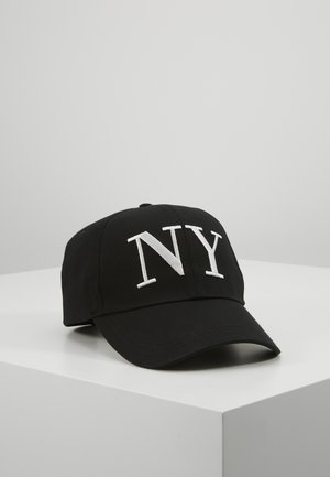 EMBROYDERED - Cap - black