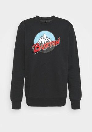 RETRO CREW - Sweatshirt - true black