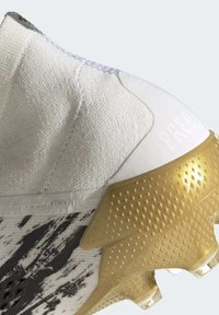 adidas Performance - FOOTBALL FIRM GROUND - Moulded stud football boots - ftwwht/goldmt/cblack - 7