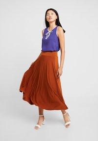 Anna Field - A-line skirt - caramel cafe - 1