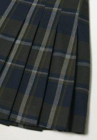 Mango - Pleated skirt - vert - 7