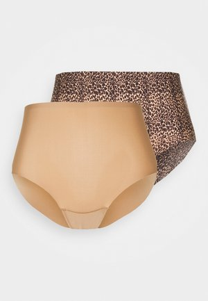 DREAM INVISIBLES 2 PACK - Pants - brown