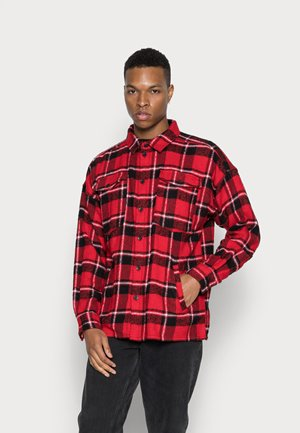 JONTE PATCH - Lehká bunda - urban red/black