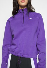 Fila Tall - MARCY HALF ZIP - Collegepaita - ultra violet - 5
