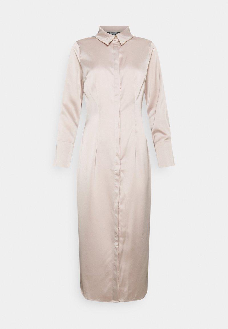 Missguided Petite - Maxi dress - dark beige