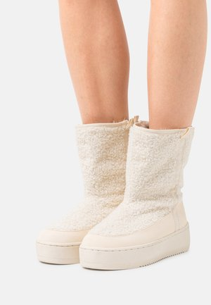 RIVER - Winter boots - mineral beige