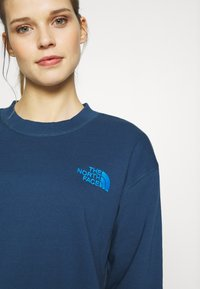 The North Face - WOMENS PARKS SLIGHTLY CROPPED CREW - Mikina - blue wing teal - 3