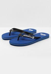 Quiksilver - MOLOKAI - Pool shoes - black/blue - 2