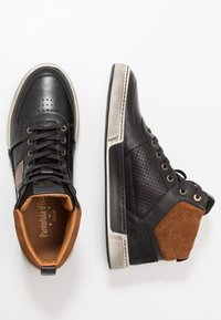 Pantofola d'Oro - FREDERICO UOMO MID - High-top trainers - black - 1