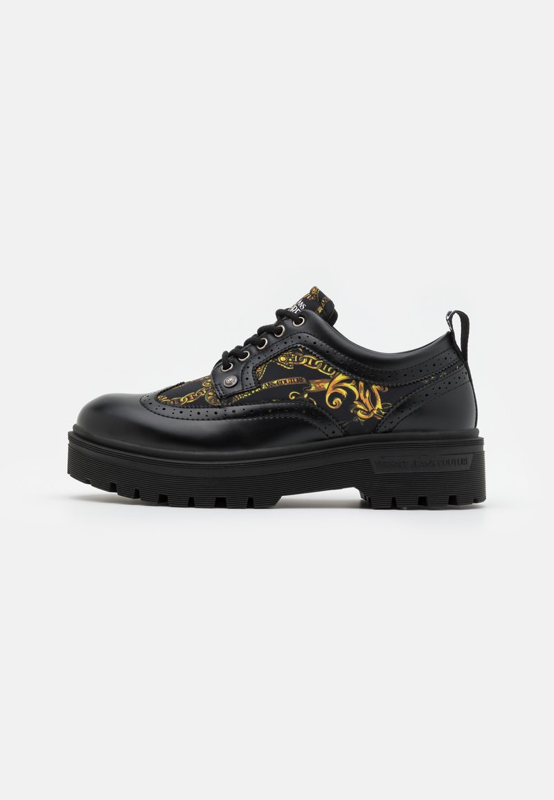 Versace Jeans Couture - SYRIUS - Lace-ups - nero/oro