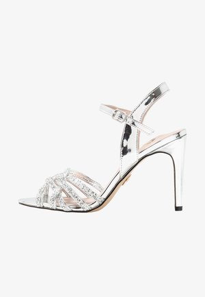 AFTERGLOW - High Heel Sandalette - silver
