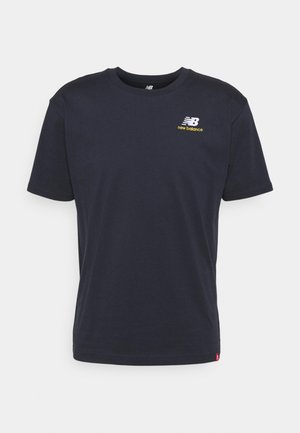 ESSENTIALS EMBROIDERED TEE - Basic T-shirt - eclipse