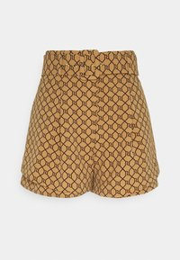 River Island - STRUCTURED - Shorts - brown - 0