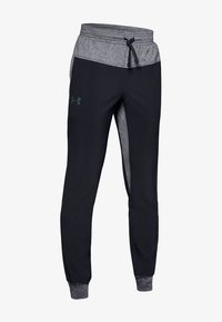 Under Armour - WARM UP - Tracksuit bottoms - black - 0