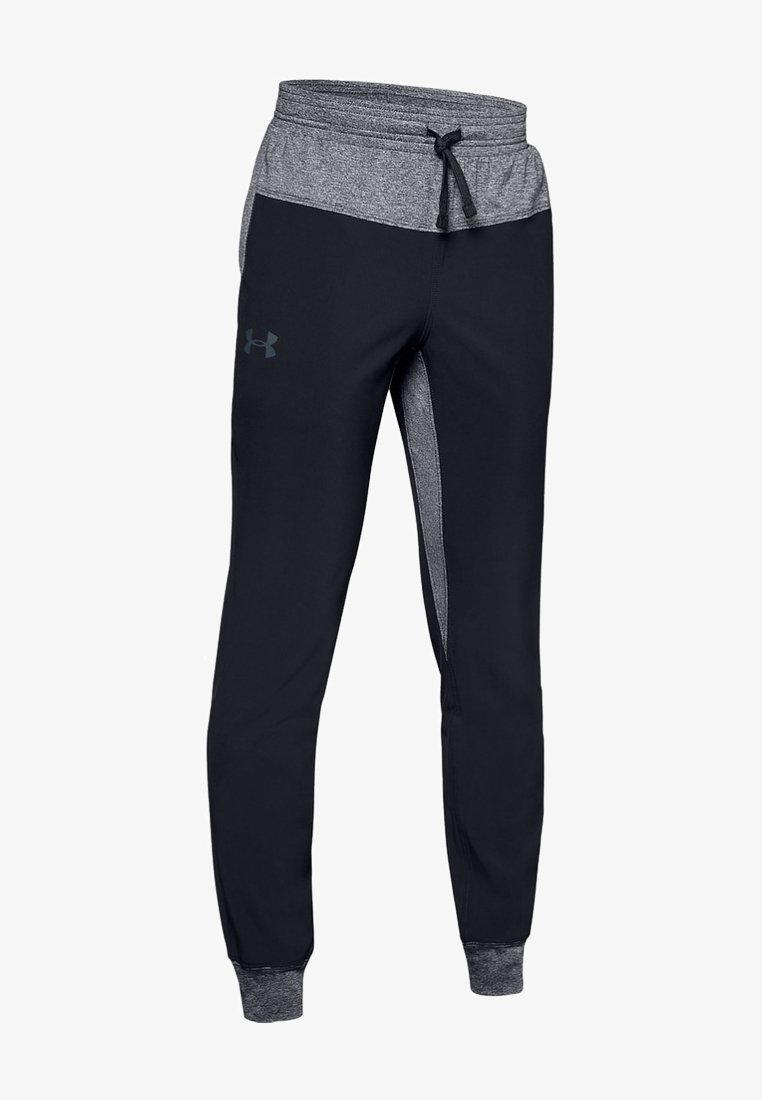 Under Armour - WARM UP - Tracksuit bottoms - black
