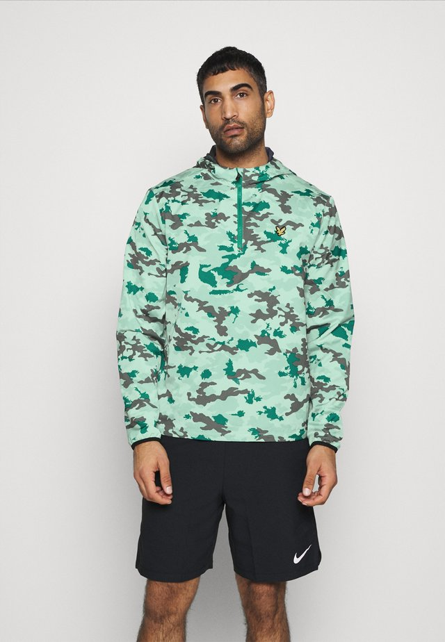 CAMO ULTRA LIGHT ANORAK - Training jacket - seawave/graphite