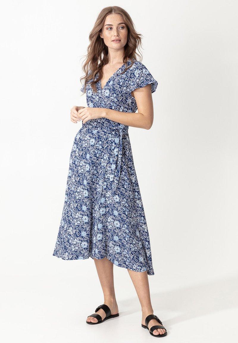 Indiska - EDIT - Denní šaty - blue