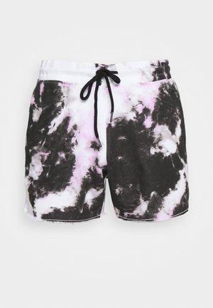 SHORT WASH - Shorts - pink/white wash effect