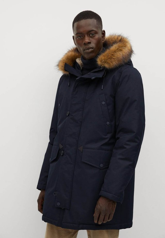 KYOTO - Winter coat - bleu marine foncé
