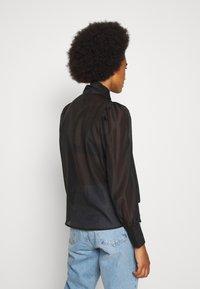 Vero Moda - VMBRIANA - Button-down blouse - black - 2
