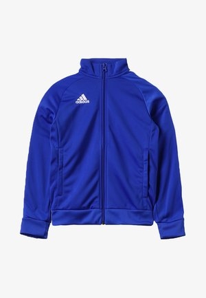 CORE 18 FOOTBALL TRACKSUIT JACKET - Sportovní bunda - bold blue/white