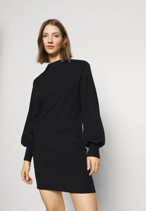 LA BELLE LIFE - Strikket kjole - black