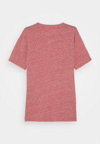 Abercrombie & Fitch - SOLID BASICS - Print T-shirt - red - 1