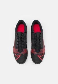 Nike Performance - MERCURIAL VAPOR 14 CLUB TF - Astro turf trainers - black/cyber - 3
