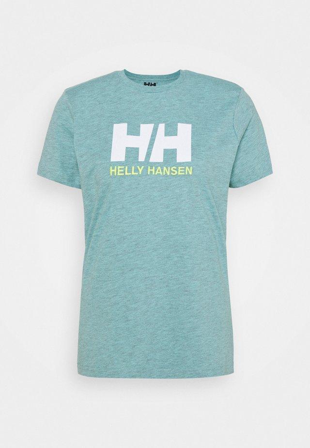 LOGO - Print T-shirt - glacier blue