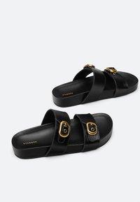 Uterqüe - Sandals - black - 3