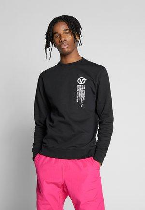 DISTORT TYPE CREW - Sweatshirt - black