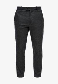 Trousers - grey heringbone