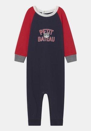 COMBINAISON LONGUE - Jumpsuit - dark blue/red